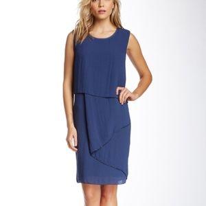 Elie Tahari Sarella Dress Mystic Blue XS